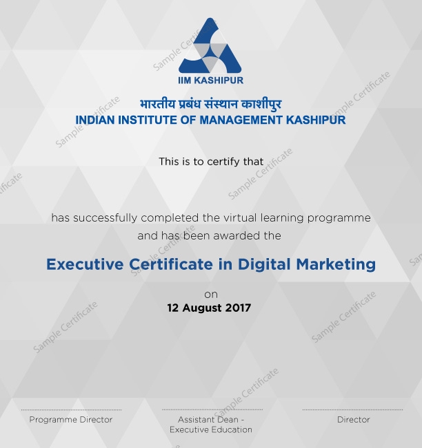 Digital Marketing Course From Iim