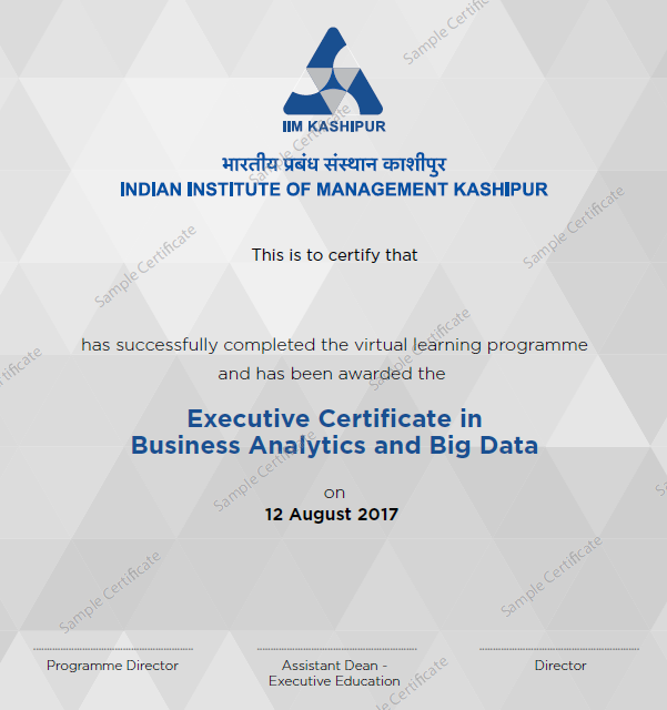 Data Analytics Courses Online Big Data Analytics