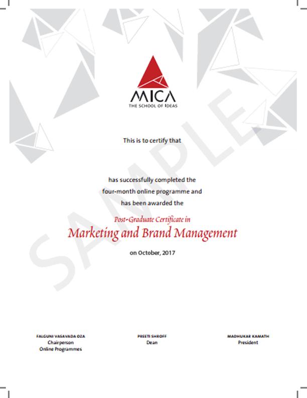 Marketing Management Course Brand Management Online Certification