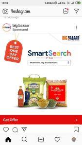 Big Bazzar Food Organic Campaign