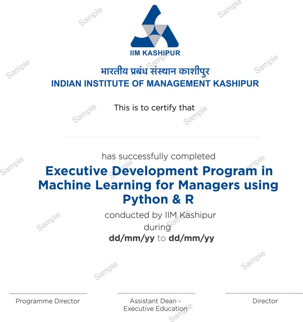 Best Machine Learning Course Advance Machine Learning Course Using