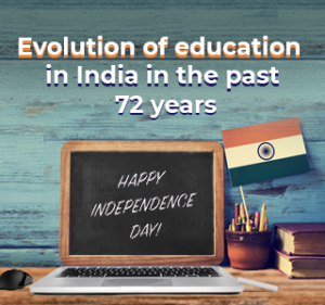 Evolution of modern education in India
