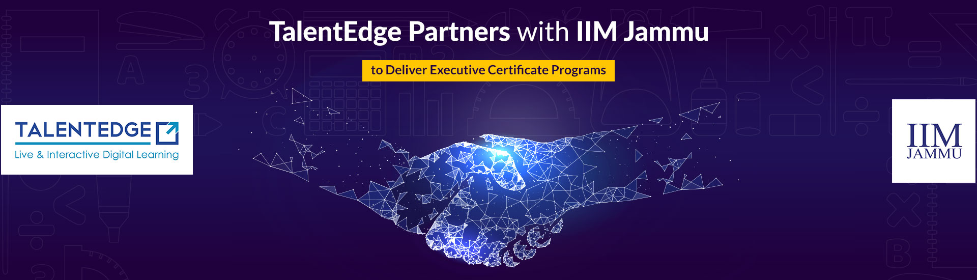 IIM jammu partnered with talentedge