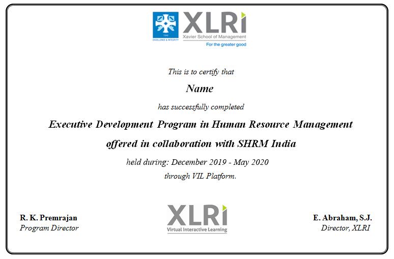 Human Resource Management Courses | Online HR Certification Course Program