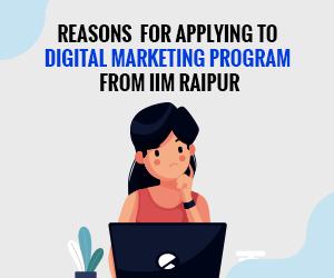 IIM Raipur digital marketing courses
