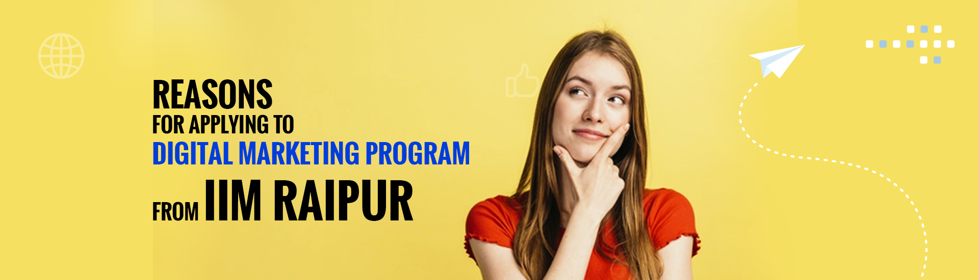 IIM Raipur digital marketing courses