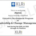 Leadership and Change Management Certification Courses from XLRI